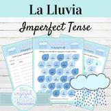 Spanish Imperfect Tense La Lluvia Activities