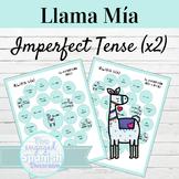 Spanish Imperfect Tense Llama Mía Speaking Activity SET OF 2