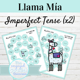 Spanish Imperfect Tense Llama Mía Speaking Activity SET OF 2