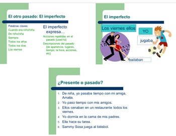 Spanish Imperfect Tense Power Point
