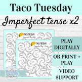 Spanish Imperfect Tense Activities | Digital or Print Taco