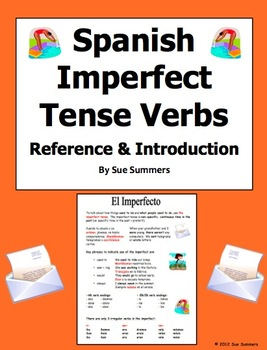 Spanish Imperfect Tense Verb Reference and Introduction
