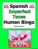 Spanish Imperfect Tense Verbs Human Bingo Game Speaking Activity