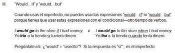 Spanish Imperfect Tense and Uses