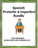 Imperfect & Preterite Spanish Bundle: Imperfecto/pretérito: 8 Products @40%off!