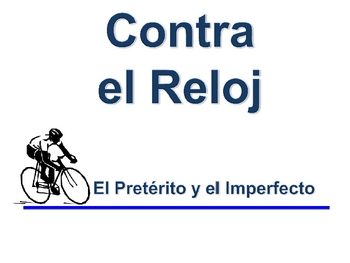 Spanish Imperfect  and Preterite Writing Activity (Powerpoint)