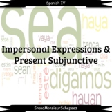 Spanish Impersonal Expressions & Present Subjunctive Video