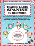 Teach & Learn Spanish™ in December