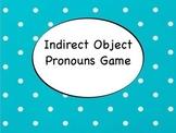 Spanish Indirect Object Pronouns Game via Keynote Slideshow for Mac