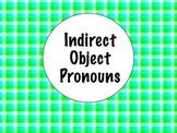 Spanish Indirect Object Pronouns Keynote Presentation
