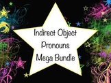 Spanish Indirect Object Pronouns MEGA BUNDLE- Game, Slideshow, Worksheets