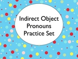 Spanish Indirect Object Pronouns Worksheets Practice Set