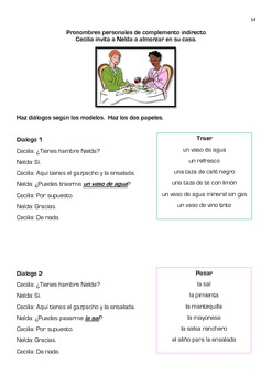 Spanish Indirect Object Pronouns Pronombres Personales de complemento indirecto