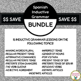 Spanish Inductive Grammar Lesson Bundle