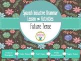 Spanish Inductive Grammar Lesson:  Future Tense