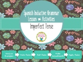 Spanish Inductive Grammar Lesson:  Imperfect Tense