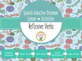 Spanish Inductive Grammar Lesson:  Reflexive Verbs