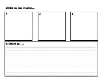 Spanish Inferecing Sheet (visualizing)