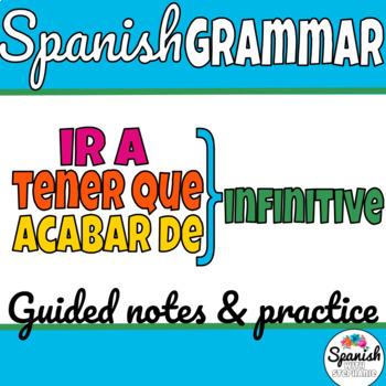 Spanish Grammar: ir a, tener que, acabar de