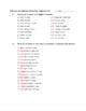Spanish Informal Affirmative Command Worksheet