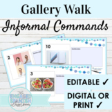 Spanish Informal Commands Gallery Walk Writing Activity