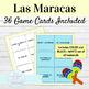 Spanish Informal Commands Maracas Activity