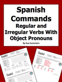 Spanish Informal Commands With Indirect Object Pronouns