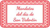Spanish Informal Tú Commands/Mandatos: Valentine Google Slides™ Lesson+Activity