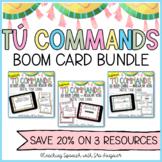 Spanish Informal Tu Command Bundle - 150 BOOM Cards - Distance Learning