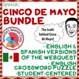 Spanish - Informative CINCO DE MAYO Bundle - Webquests and