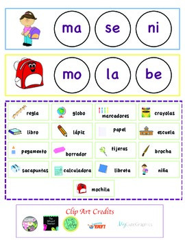 Spanish Initial Blends