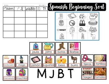 Spanish Initial Sort MJBT