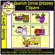 Spanish Initial Syllables ClipArt I - Silabas Iniciales Español ClipArt (Bundle)