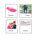 Spanish Initial /ch/ Articulation Cards