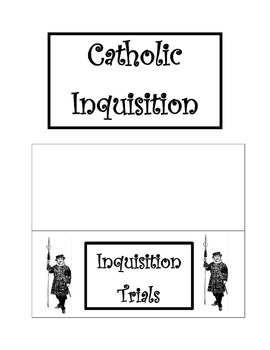 Spanish Inquisition Lap Book