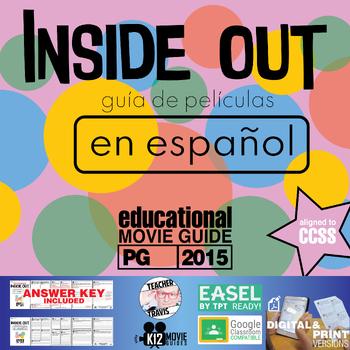 Inside Out Guía de película en Español / Inside Out Movie Guide in Spanish