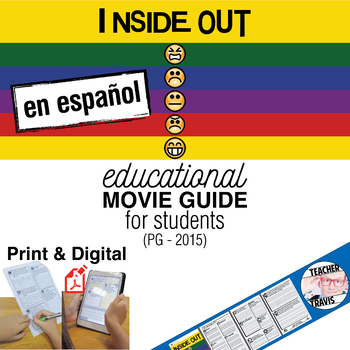 Inside Out Guía de película en Español / Inside Out Movie Guide in Spanish