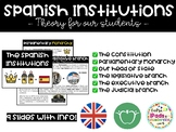 Spanish Institutions: theory for our students