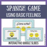 Spanish Interactive Game--Basic Feelings