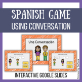 Spanish Interactive Game--Conversation: What comes next?