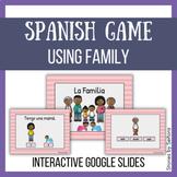 Spanish Interactive Game--La Familia