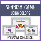 Spanish Interactive Game--Los Colores