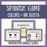 Spanish Interactive Game--Me Gustan los Colores