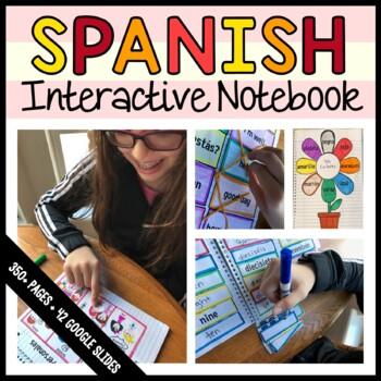 Spanish Interactive Notebook