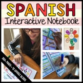 Spanish Interactive Notebook with Scaffolded Notes Distance Learning