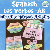 Spanish Interactive Notebook AR Verbs