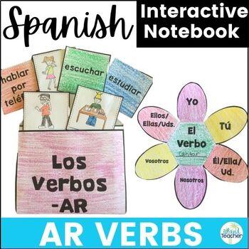Spanish Interactive Notebook AR Verbs