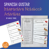 Spanish Verb Gustar Interactive Notebook Activities Distance Learning