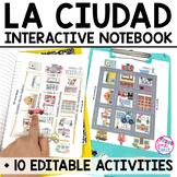 Spanish Interactive Notebook Activities:  La Ciudad