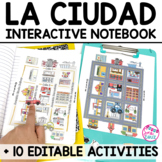 Spanish Interactive Notebook Activities:  La Ciudad